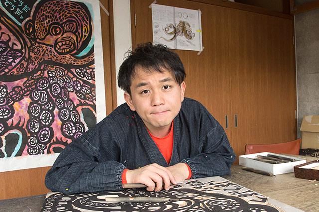 伊予を描く人 版画家 石村 嘉成さん|iyomemo(いよめも)